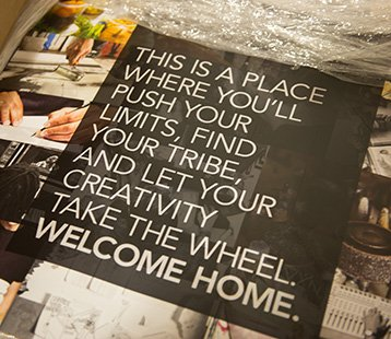 There is a place where you'll push your limits, find your tribe, and let your creativity take the wheel. Welcome home.